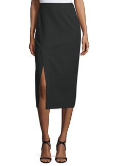 Elizabeth and James Theo Crepe Pencil Skirt