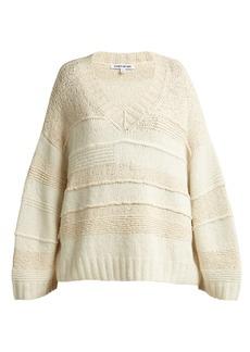 Elizabeth And James Torry V-neck cashmere-blend sweater