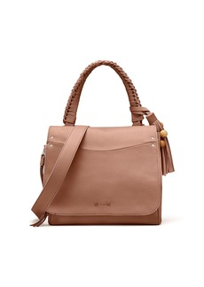 Elizabeth and James Trapeze Leather Crossbody