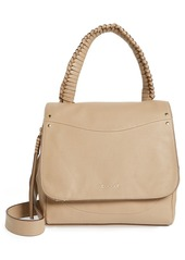 Elizabeth and James Trapeze Leather Satchel