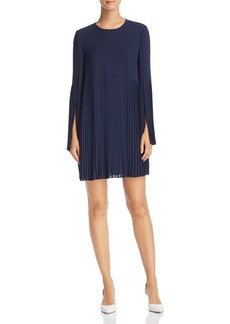 Elizabeth and James Violetta Pleated Georgette Dress