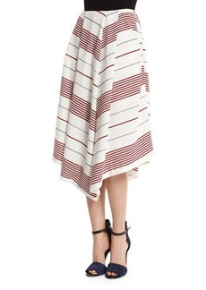 Elizabeth and James Watson Striped A-Line Skirt