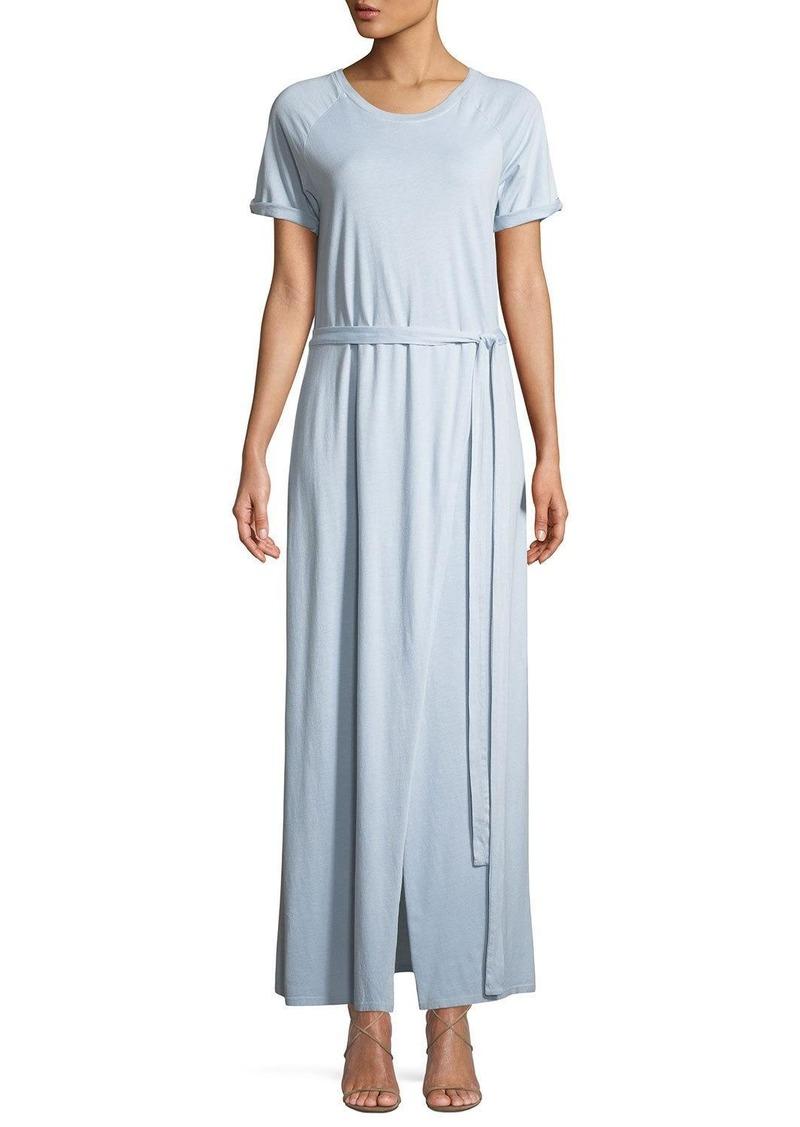 Elizabeth and James Welles Pigment-Dyed Midi Tee Dress