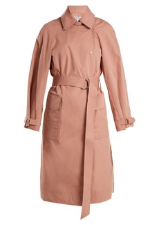 Elizabeth And James Weston tie-waist cotton-blend trench coat
