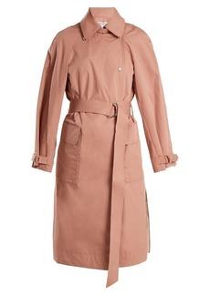 Elizabeth And James Weston tie-waist cotton-blend trench coat
