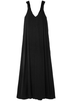 Elizabeth And James Woman Laverne Knotted Cady Maxi Dress Black