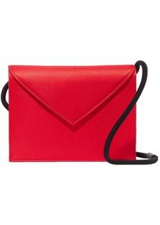 Elizabeth And James Woman Pen Pal Satin Shoulder Bag Red