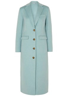 Elizabeth And James Woman Russell Wool-blend Felt Coat Sky Blue