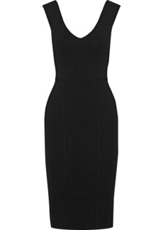Elizabeth And James Woman Selby Ribbed-knit Dress Black