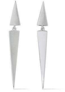 Elizabeth And James Woman Silver-tone Earrings Silver