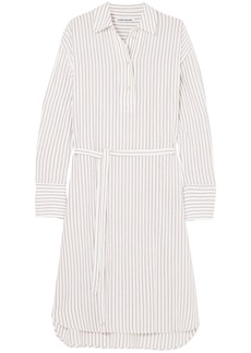 Elizabeth And James Woman Striped Gauze Shirt White