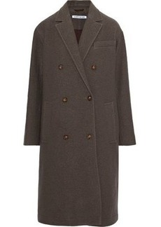 Elizabeth And James Woman Timothy Double-breasted Wool Coat Mushroom