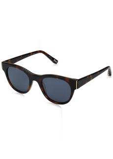 Elizabeth and James Women's Blair Wayfarer Sunglasses  50 mm