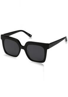 Elizabeth and James Women's Rae Square Sunglasses  51 mm