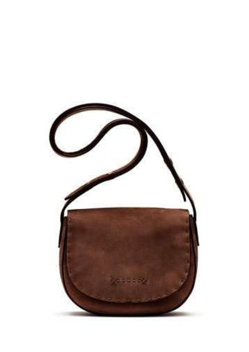 beb13d2b92 Elizabeth and James Elizabeth and James Zoe Mini Suede Saddle Bag ...