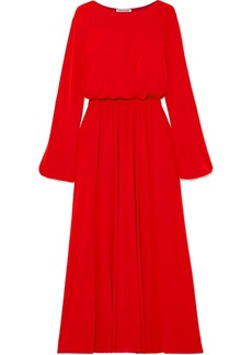 Elizabeth and James Evy Stretch-crepe Maxi Dress