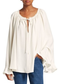 Elizabeth and James Fleur Ruffle Cuff Blouse