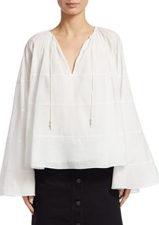 Elizabeth and James Fleur Ruffled Flowy Top
