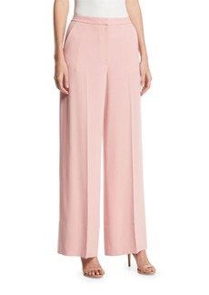 Elizabeth and James Harmon Simple Wide-Leg Pants