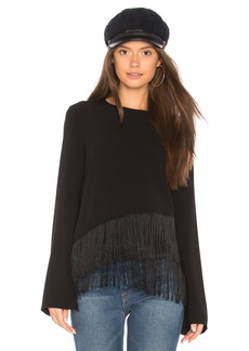 Elizabeth and James Hudson Fringe Top