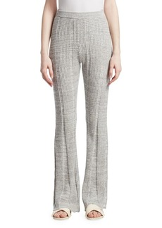 Elizabeth and James Joan Slim Flare Ribbed Trousers