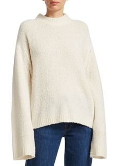 Elizabeth and James Josette Bouclé-Knit Sweater