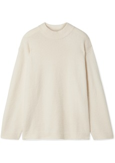 Elizabeth and James Josette Oversized Cotton-blend Bouclé Sweater