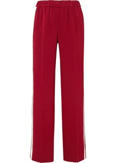 Elizabeth and James Kelly Striped Crepe Track Pants
