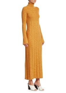 Elizabeth and James Knit Wool Maxi Sweater Dress