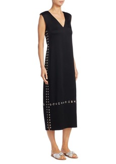 Elizabeth and James Leigh Grommet Midi Dress