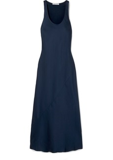 Elizabeth and James Malta Satin-crepe Maxi Dress