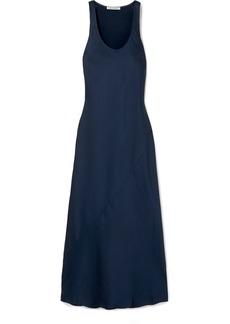 Elizabeth and James Malta Satin-crepe Maxi Dress