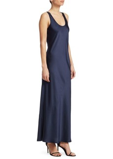 Elizabeth and James Malta Satin Maxi Dress