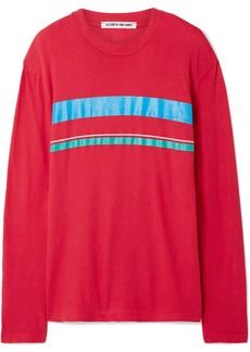 Elizabeth and James Melody Striped Cotton-jersey Top