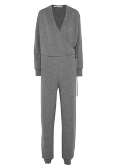 Elizabeth and James Norica Wrap-effect Cashmere Jumpsuit