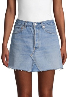 Elizabeth and James Paulie Denim Mini Skirt