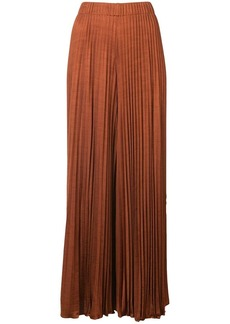 Elizabeth and James pleated midi trousers