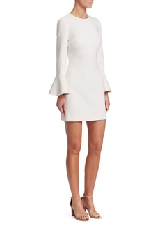 Elizabeth and James Romy Bell-Sleeve Sheath Dress