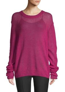 Elizabeth and James Rosalie Oversized Wool Blend Pullover