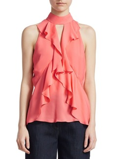 Elizabeth and James Ruffle Moma Top