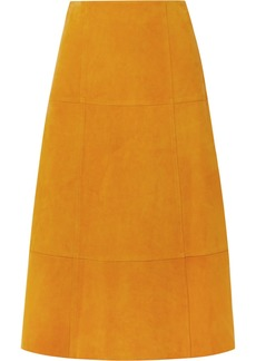 Elizabeth and James Ryker Suede Midi Skirt