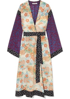 Elizabeth and James Shawna printed silk kimono