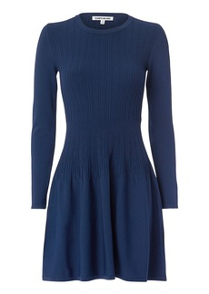 Elizabeth and James Tao Ribbed Mini Dress