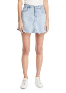 Elizabeth and James Vintage One-of-a-Kind Denim Mini Skirt
