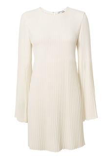 Elizabeth and James Violetta Pleated Cape Mini Dress
