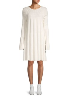 Elizabeth and James Wool-Blend Sweater Dress