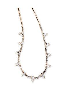 Elizabeth Cole Ailey Crystal Necklace