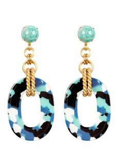 Elizabeth Cole Bennet Glass Drop Earrings