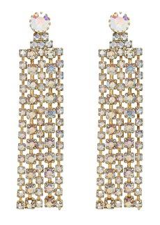 Elizabeth Cole Crystal Fringe Earrings