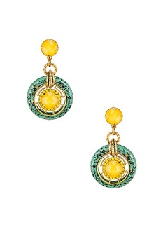 Elizabeth Cole Circle Drop Earring